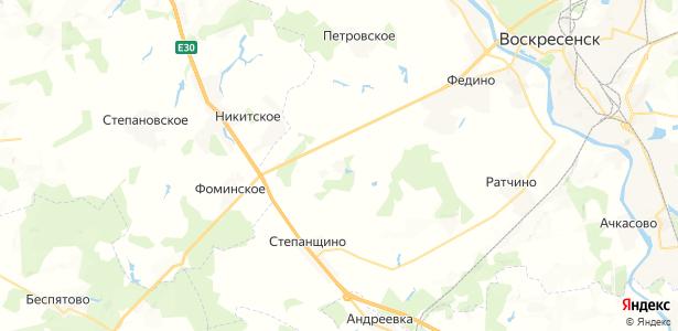 Невское на карте