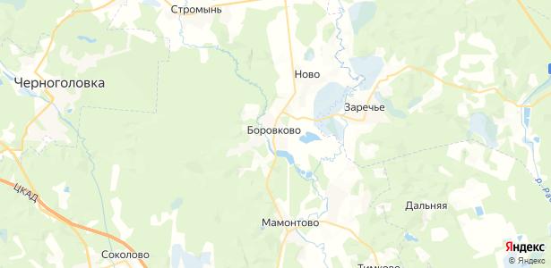 Боровково на карте