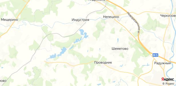 Лыково на карте