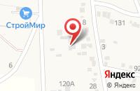Схема проезда до компании Альфа строй в Ильском