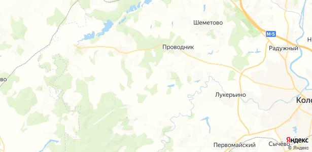 Колодкино на карте
