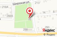 Схема проезда до компании Ильский питомник декоративных растений в Ильском