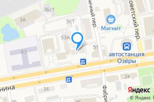 Снять однокомнатную квартиру в Озёрах Московская область, улица Ленина, 53Б