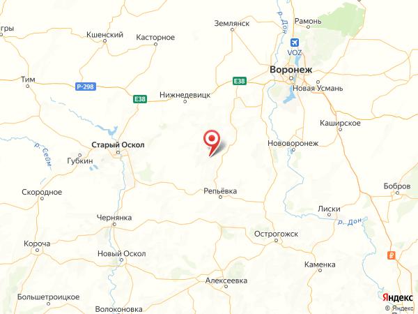 хутор Ключи на карте