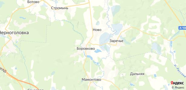 Новосергиево на карте