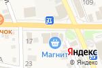 Схема проезда до компании Магнит в Ильском