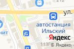 Схема проезда до компании Qiwi в Ильском