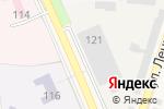 Схема проезда до компании Пирамида в Ильском