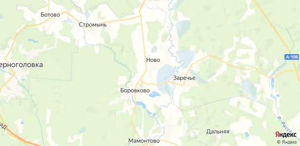 Ново на карте