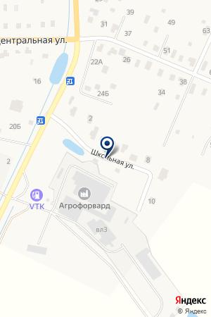 АЗС ВТК на карте Воскресенска