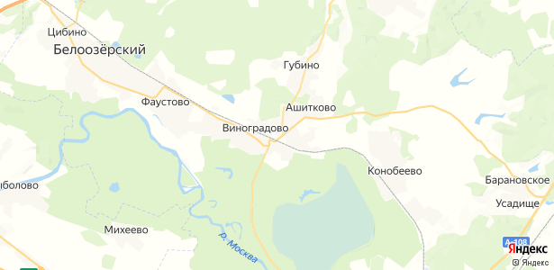 Исаково на карте