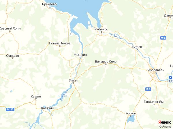 деревня Литвиново на карте