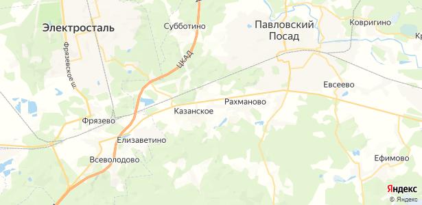 Сонино на карте