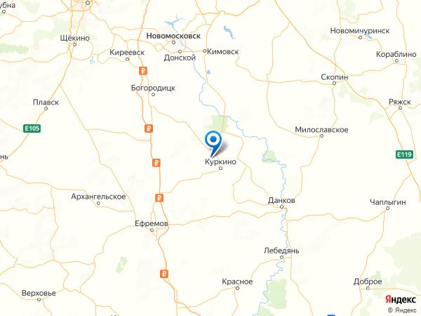 деревня Высоцкое на карте