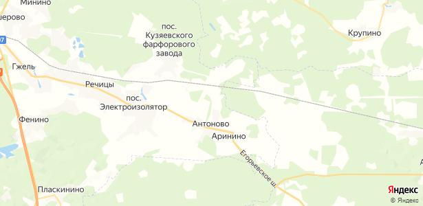 Шевлягино на карте