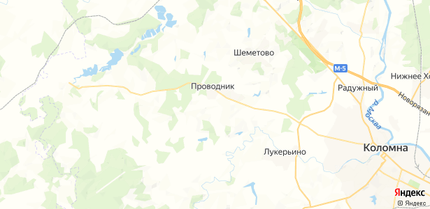 Борисовское на карте