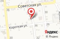 Схема проезда до компании Юго-Западный банк Сбербанка России в Новомышастовской