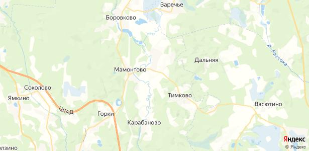 Гаврилово на карте