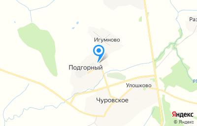 Местоположение на карте пункта техосмотра по адресу Вологодская обл, Шекснинский р-н, п Подгорный