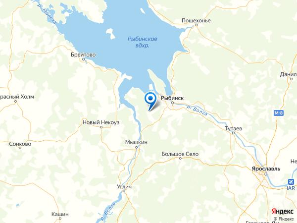 деревня Чудиново на карте