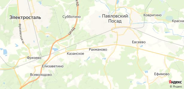 Рахманово на карте