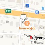 Магазин салютов Большое Буньково- расположение пункта самовывоза
