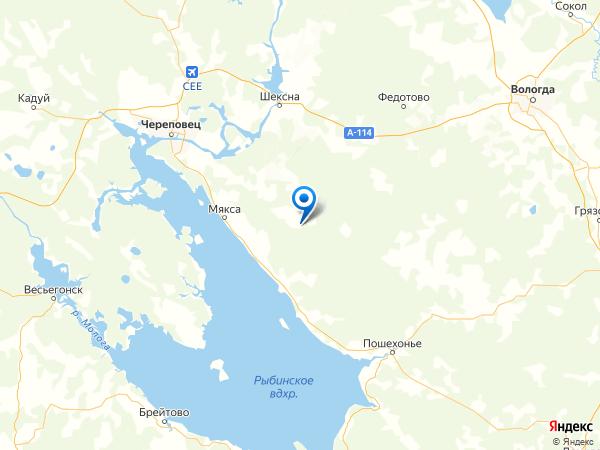 поселок Александрово на карте