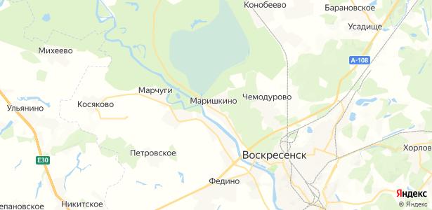 Маришкино на карте