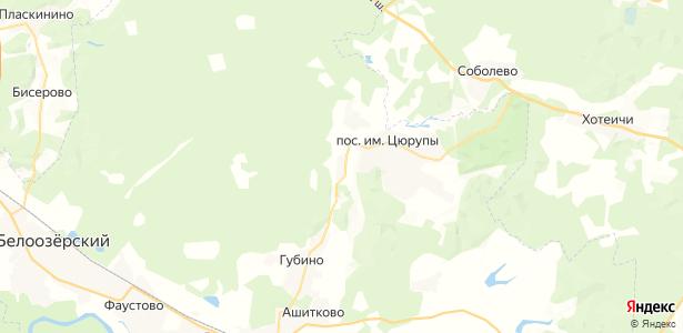 Марьинка на карте