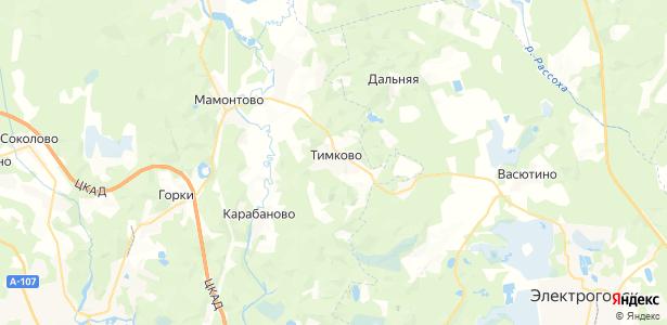 Тимково на карте