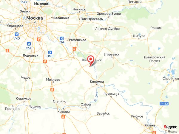 деревня Катунино на карте