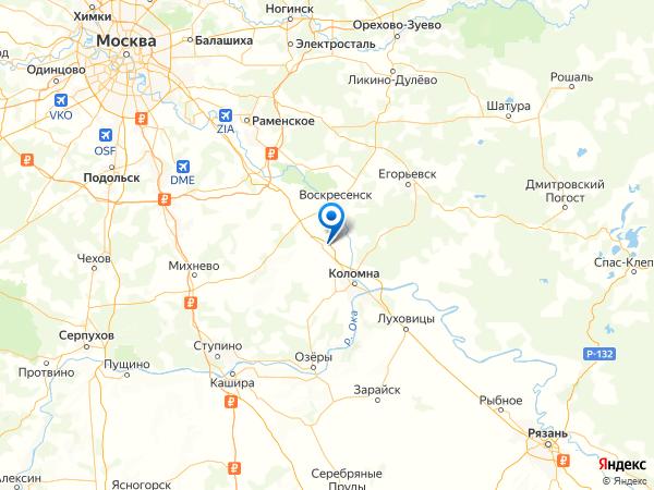деревня Санино на карте