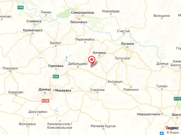 поселок городского типа Городище на карте