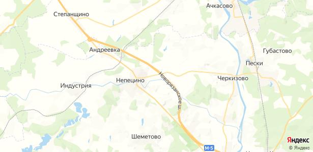 Санино на карте