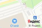 Схема проезда до компании KFC в Федином