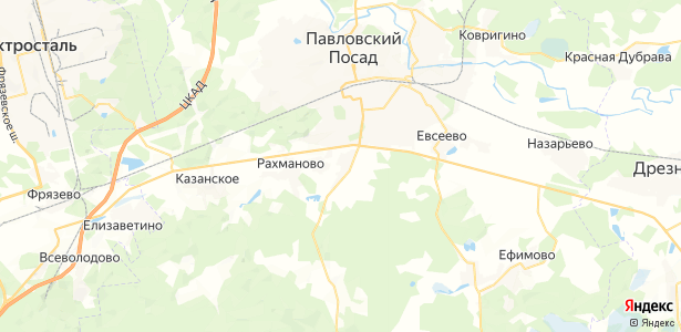 Фатеево на карте