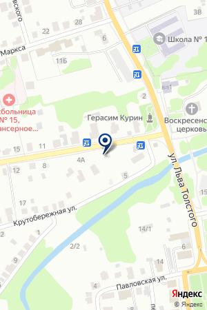 МАГАЗИН ВСЕ ДЛЯ ДОМА на карте Дедовска