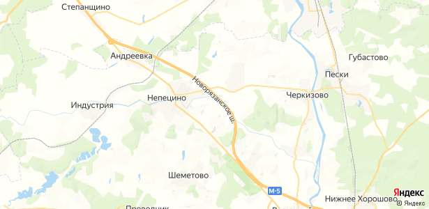 Настасьино на карте