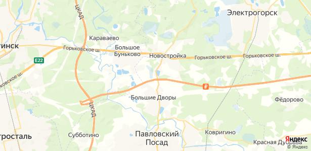 Заозерье на карте