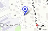 Схема проезда до компании ШКОЛА СРЕДНЕГО ОБЩЕГО ОБРАЗОВАНИЯ № 15 в Электрогорске