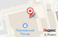 Схема проезда до компании GLORIA JEANS в Павловском Посаде