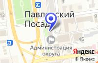 Схема проезда до компании МП РЕДАКЦИЯ ТЕЛЕПРОГРАММ РАДУГА в Павловском Посаде