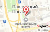 Схема проезда до компании Информационное Агентство Павлово-Посадского Района Московской Области в Павловском Посаде