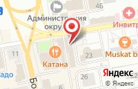 Схема проезда до компании Адель в Павловском Посаде