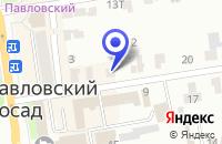 Схема проезда до компании СТРОИТЕЛЬНО-МОНТАЖНАЯ ФИРМА СТРОИТЕЛЬ в Электрогорске