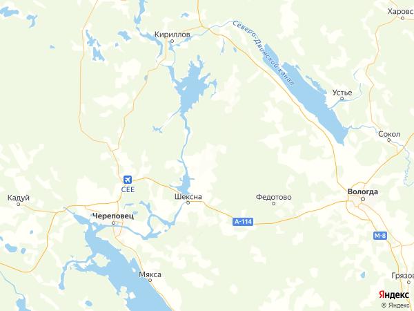 деревня Кощеево на карте