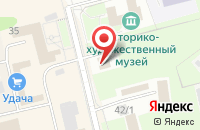 Схема проезда до компании Махаон в Павловском Посаде