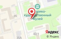 Схема проезда до компании Фабрика Окон в Павловском Посаде