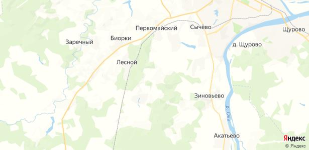 Воловичи на карте