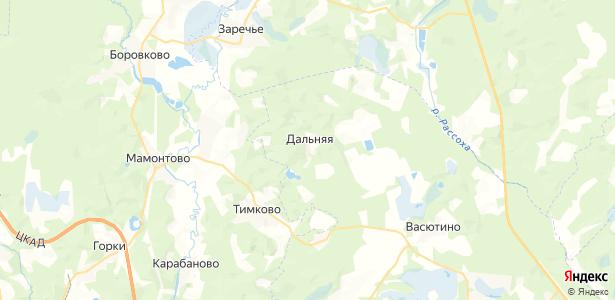 Дальняя на карте